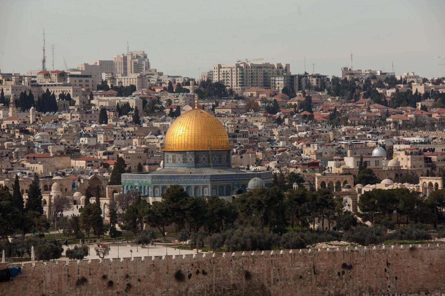 Jeruzalém - Mešita